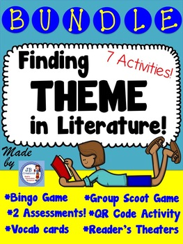 Theme Bundle for Upper Elementary (3rd, 4th, 5th grades)