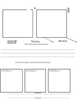 Theme: Graphic Organizer