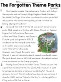 Theme Park Informational Text Sets - FSA/PARCC-Style Asses