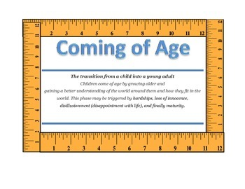 Theme Poster: Coming of Age