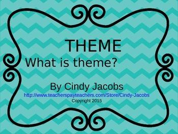 Theme PowerPoint Figurative Language