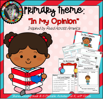 """Theme - Read Across America/ Opinion Writing - """"Your Favor"""