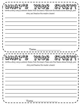 Theme Story Cards
