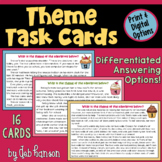 Themes in Literature Task Cards