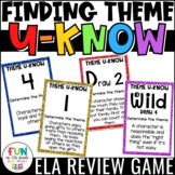 Theme Game for Literacy Centers