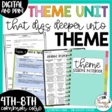 Theme Unit for Upper Elementary and Middle School {4th, 5t