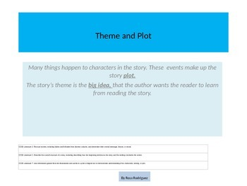 Theme and Plot