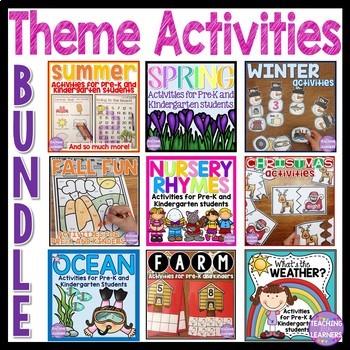 Themed Activities Bundle