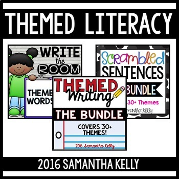 Themed Literacy Stations