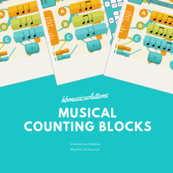 Musical Counting Blocks