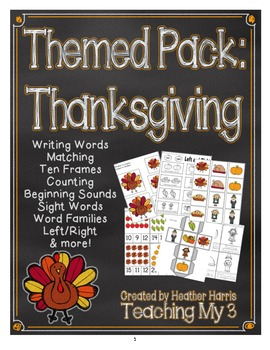 Themed Pack: Thanksgiving