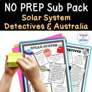 Mini Themed Units: Australia, Detectives, Solar System The