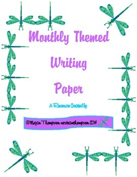 Themed Writing Paper