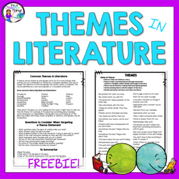 Themes in Literature List