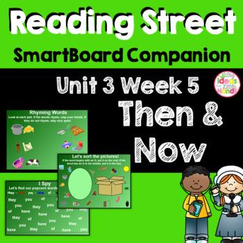 Then and Now SmartBoard Companion Kindergarten