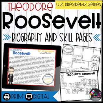 Theodore Roosevelt: Biography, Timeline, Graphic Organizer
