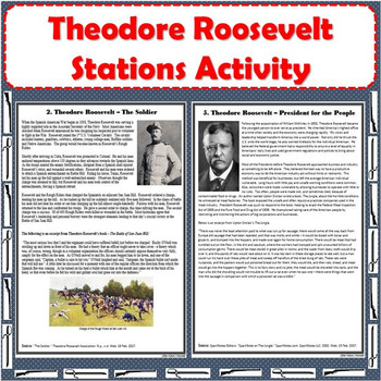 Theodore Roosevelt Stations Activity
