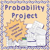 Theoretical & Experimental Probability Project - middle/hi