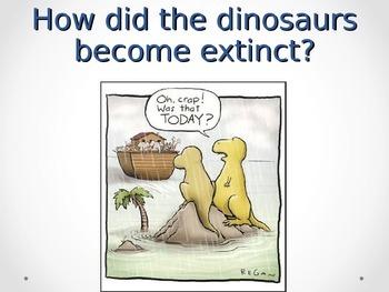 Theories of Dinosaur Extinctions