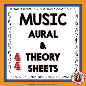 Theory and Aural Quiz Worksheets