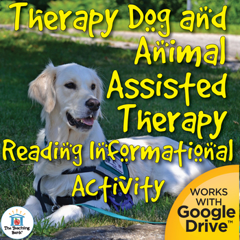 Therapy Dog Reading Informational Activity