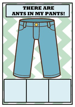 There Are Ants In My Pants Sight Word Game - DOLCH FIRST G