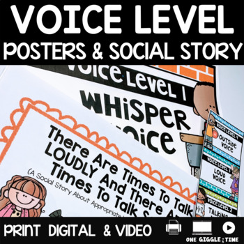 There Are Times To Talk LOUDLY And Times To Talk Softly (A Social Story)