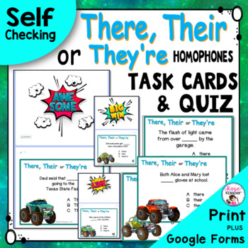 Homophones There, Their and They're