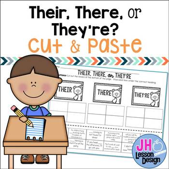 There, Their, or They're? Cut and Paste Sorting Activity
