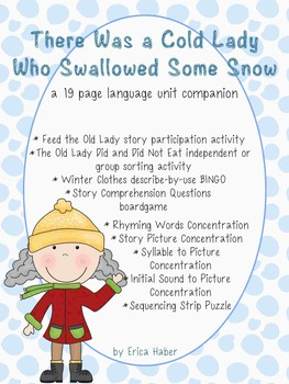 #dec16SLPmusthave A Cold Lady Who Swallowed Some Snow Lang