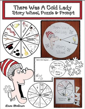 There Was A Cold Lady Who Swallowed Some Snow: Story Wheel