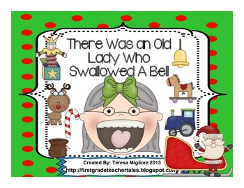 There Was An Old Lady Who Swallowed A Bell  Everything you need!