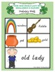 There Was An Old Lady Who Swallowed A Clover! Literacy Aci