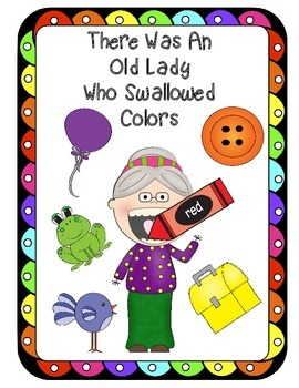 There Was An Old Lady Who Swallowed Colors Recognition Sor