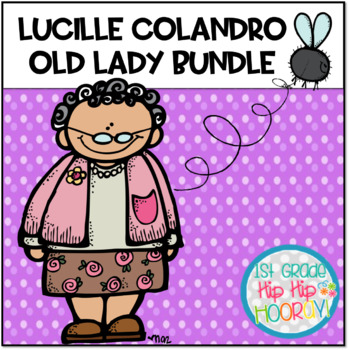 Author Study with Lucille Colander ... An Old Lady Bundle!