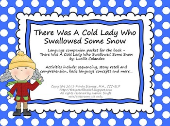 There Was a Cold Lady Who Swallowed Some Snow - Language P