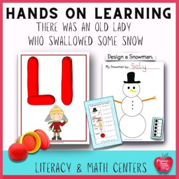 There Was An Old Lady Who Swallowed Some Snow Literacy & M