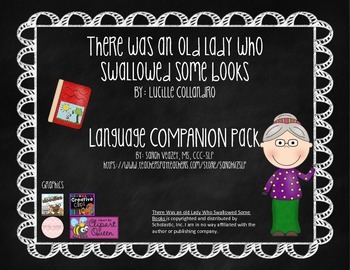 {There Was an Old Lady Who Swallowed Some Books} Language