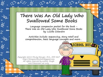 There Was an Old Lady Who Swallowed Some Books - Speech an