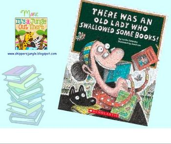 There Was an Old Lady Who Swallowed Some Books SMART board
