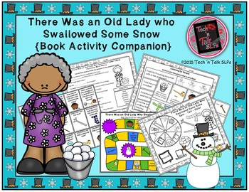 There Was an Old Lady Who Swallowed Some Snow (Book Activi
