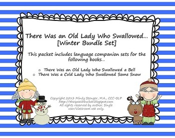 There Was an Old Lady Who Swallowed - [[WINTER BUNDLE]] -