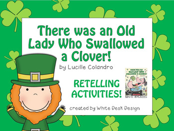 There Was an Old Lady Who Swallowed a Clover {Retelling Ac