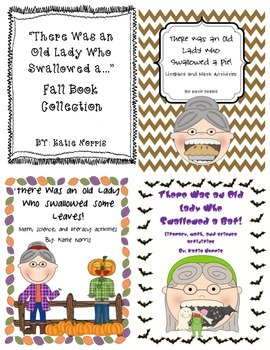 There Was an Old Lady Who Swallowed a... Fall Book Collection