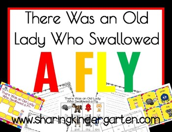 There Was an Old Lady Who Swallowed a Fly Game and Writing Prompt