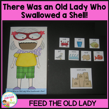 There Was an Old Lady Who Swallowed a Shell! Cut-Out