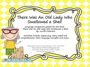 There Was an Old Lady Who Swallowed a Shell - Language Pac