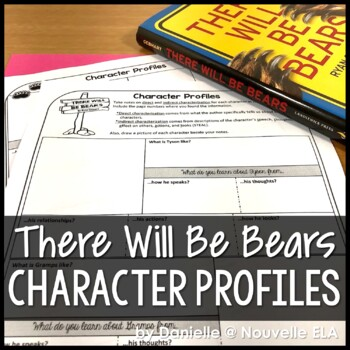 There Will Be Bears - Character Profiles
