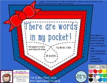 There are Words in My Pocket