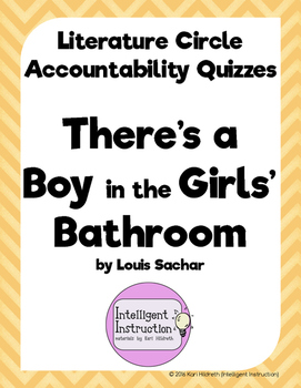 There's a Boy in the Girls' Bathroom: Lit Circle Accountab